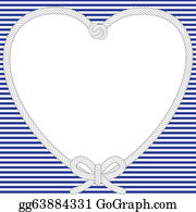 Valentine-Border-Hearts-Frame - Nautical Valentine Frame