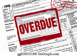 Income-Tax - Red Warning On Tax Form