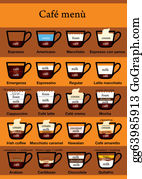 Coffee-With-Creamer - Coffee Menu Table