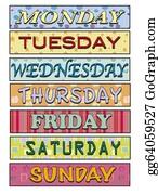 Weekday - Days Of The Week