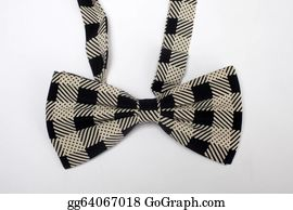 Bow-Tie - Bow Tie Isolated On The White