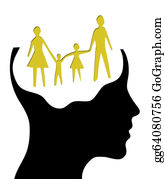 Babies-And-Toddlers-Silhouettes - A Concept For Dream Family , Where Thinking Head Silhouette