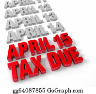 Due - April 15th Tax Due