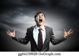 Beards - Businessman In Anger