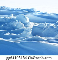 Freezing-Cold - Pure Arctic Snow Formation