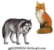 Poultry - Fox And Wolf
