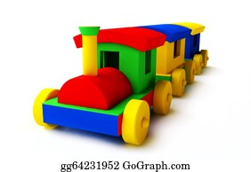 Funny-Toy-Train - Colorful Toy Train