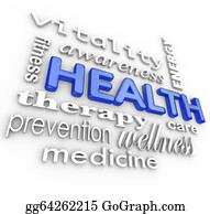 Therapy - Health Care Collage Words Medicine Background