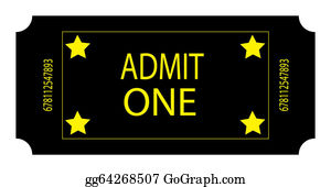 Admission-Ticket - A Black Ticket