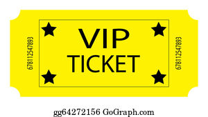 Admission-Ticket - Yellow Vip Ticket