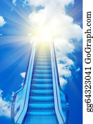 Blue-Sky - Ladder