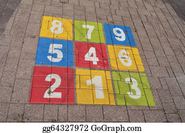 Hopscotch - Kids Outdoor Game