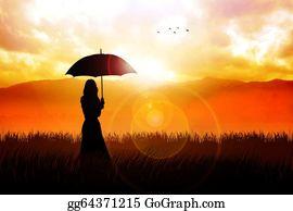 Prairie - Umbrella Girl