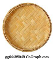 Basket - Bamboo Mini Basket