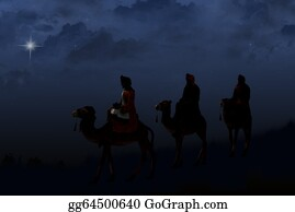 Three-Kings - Three Wise Men With Star