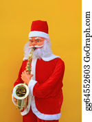 Sax - Santa Claus Is Playing Sax