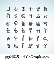 Time-For-Shopping - Set Of Business Concept Icons