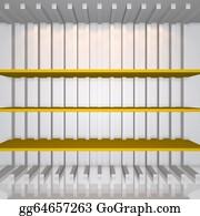 Trestle - 3d Yellow Shelves