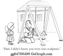 I-Love-You-Dad - Are You For Real Building Me A Swing