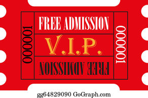 Admission-Ticket - Red Vip Admission Ticket