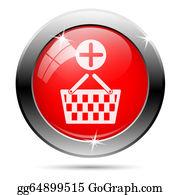 Basket - Shopping Basket Add Icon