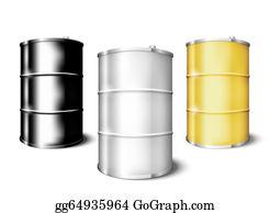 Drum-Set - Metal Drum Barrels Set