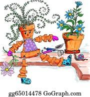 Flower-Pot - Flower Pot Lady