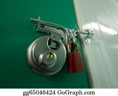 Self-Storage - 2 Padlocks