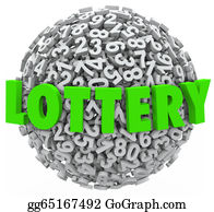Lottery-Winner - Lottery Word Number Ball Sphere Gambling Jackpot