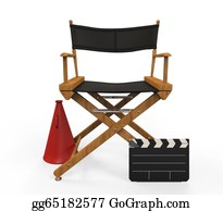Movie-Production - Movie Director Chair