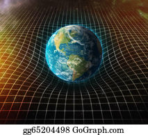 Gravity-Field - Earth S Gravity Bends Space Around