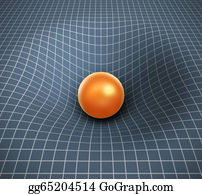 Gravity-Field - Gravity 3d Illustration