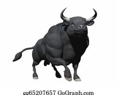 Impale - Walking Bull - 3d Render