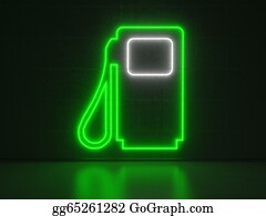 Concrete-Pump - Gasoline Pump - Series Neon Signs