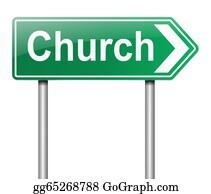 Church-Building - Church Sign.