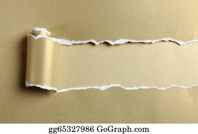 Ripped-Paper - Ripped Gold Paper
