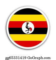 Badge - Uganda
