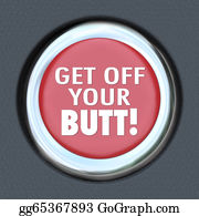 Spurs - Get Off Your Butt Red Button Physical Activity Exercise
