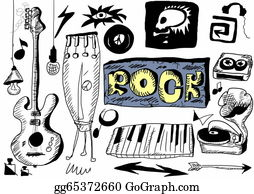 Music-Notes-On-Piano-Keyboard - Doodle Rock Music