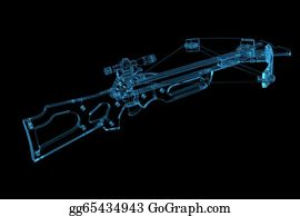 Crossbow - Crossbow (3d Xray Blue Transparent)