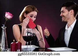 Birthday-Suit - Portrait Of Couple In Restaurant