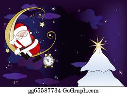 Grandfather-Clock - Santa Claus Sleeps On The Moon