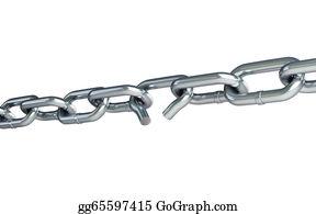 Shackles - Broken Chain Link Chain