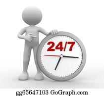 24-Hour - 24/7