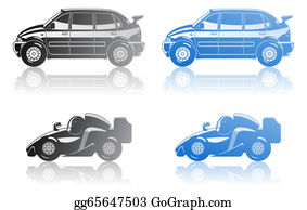 Formula-1-Racing-Car -  Illustration Of  Car.