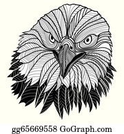 Military-Eagle-Emblem - Bald Eagle Head As Usa Symbol For Mascot Or Emblem Design, Such A Logo.
