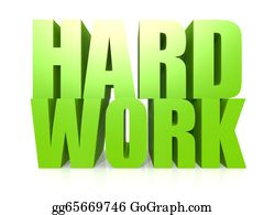 Hard-Work - Hard Work Word