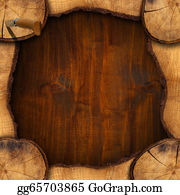 Trunk - Section Of Tree Trunk  - Background