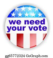 Badge - We Need Your Vote