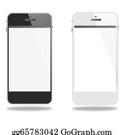 Hoover - Black And White Smartphone